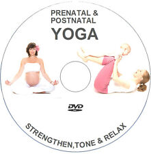 PRENATAL / POSTNATAL PREGNANCY YOGA DVD - MUM TO BE MATERNITY EXERCISE WORKOUT