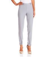 Halston Heritage Women's Size 0 Women's Tapered Leg Double Faced Crop Pants