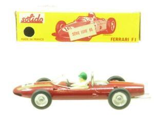 Solido Moulage sous Pression 122 Ferrari F1 Rouge #4 Original Emballé