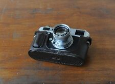 Zhou Brown Leather Half Case for Leica Digital M Typ240 Type240 w/Build-in Grip