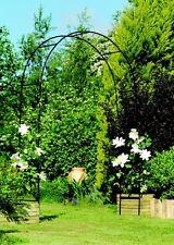 Gardman Black Metal Garden & Rose Arch Archway