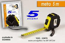 Metro con custodia in gomma 5m