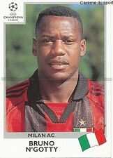 N°295 N'GOTTY MILAN.AC UEFA CHAMPIONS LEAGUE 1999/2000 STICKER PANINI ITALIA