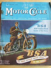 THE MOTORCYCLE MAGAZINE JAN 1951 THE BRUSSELS SALON AUTOMATIC DECARBONIZATION