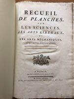 Recueil de Planches sur le sciences et.. 1772  La Chasse Caccia Diderot