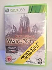 *Neuf* The Lord of the Rings: War in the North, Xbox 360, Disque Promotionnel