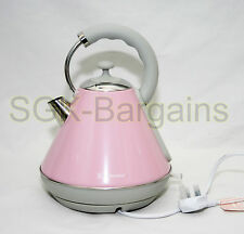 2200w 1.8L Electric Cordless Kettle Fast Boil Washable Filter Jug PINK AB