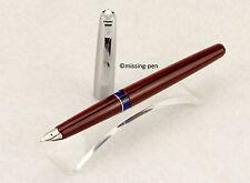 Vintage bordeaux Pelikan p470 Steno/steno fountain pen ohne Steno Word