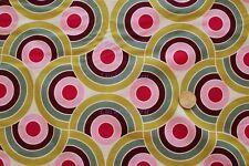 Alexander Henry Bauhaus Sage Berry OOP Cotton Fabric Yard