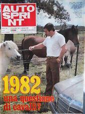 Autosprint n°52 1981 Alan Jones - [P48]