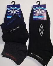 6 Pares calcetines deportivos invisibles Umbro. 100% Originales. Talla 43 / 46