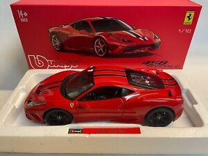 Burago Signature Ferrari 458 Italia speciale red 2013 1/18 16903