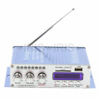 USB MP3 DVD CD FM Hi-Fi Car Stereo Digital Remote Power Amplifier Blue