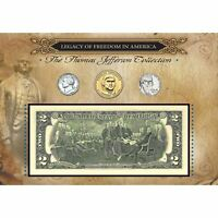 NEW American Coin Treasures Legacy of Freedom Thomas Jefferson Collection 11384