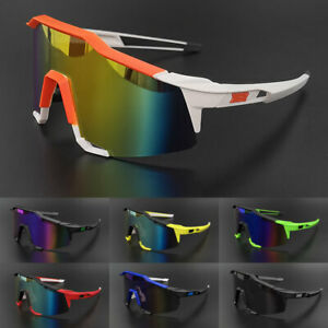 Sport Goggles Men's Outdoor Cycling Windproof Sunglasses Mirrored Shades Glasses