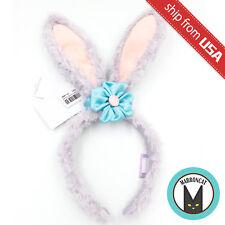 Japan Tokyo Disney Sea Limited Duffy Friend Stella Lou Plush Headband Rabbit Ear