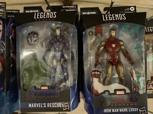 Marvel Legends 6 Inch BAF Pepper Pots Rescue And Fat Thor Iron Man LXXXV