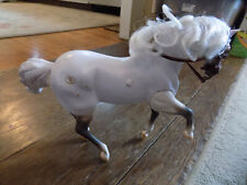 Vtg 1996 Empire Grand Champions Horse w Sounds & Action White Working Toy TLC