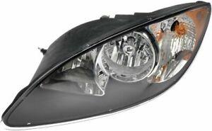 FIT FOR INTERNATIONAL PROSTAR 2008 - 2014 HEAD LAMP HALOGEN BLACK LEFT DRIVER