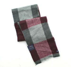 Tommy Hilfiger Scarf Men's Oversized Buffalo Check Dressy Winter Neck Wrap, $55