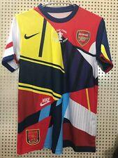 2014 Arsenal Commemorative Edition Retro Jersey Tshirt Soccer Sport Vintage