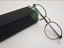 Mykita Decades GERRIT Gold Terra Grey Glasses Eyewear Eyeglass Frame Handmade