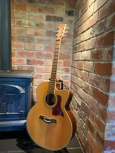 Tanglewood TW55NS, Cutaway Electro Acoustic Guitar