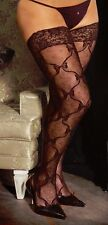Plus Size Lingerie XL-2X-3X Sexy Clothes intimate Crossdresser Thigh hi Stokings