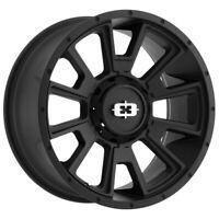 """Vision 391 Rebel 20x9 8x6.5"""" +18mm Satin Black Wheel Rim 20"""" Inch"""