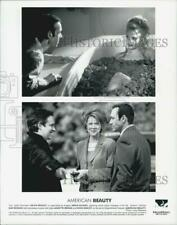 "1999 Press Photo Kevin Spacey, Mena Suvari & Annette Bening in ""American Beauty"""