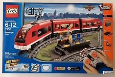 Lego City 7938 Passenger Train w/ Power Functions New In Factory Sealed Box