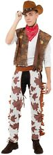 Mens Cowboy Wild West Western Stag Do Night Party Fancy Dress Costume Outfit