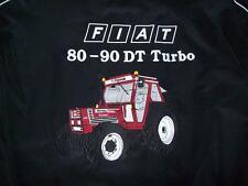 NEU FIATAGRI 80-90 DT Turbo Traktor fa Jacke schwarz (weinrot) jacket jas giacca