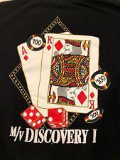 M/v Discovery I Shirt Vintage Mv Discovery Cruise Casino Single Stitch Free Ship