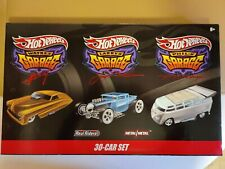 Hot Wheels Garage 30 Car Box Set Exclusive Chase VW Drag Bus NEW SEALED