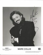 Mark Collie authentic signed autographed 8x10 photograph holo COA