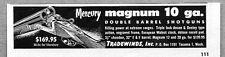1957 Print Ad Magnum 10 Gauge Double Barrel Shotguns Tradewinds Tacoma,WA