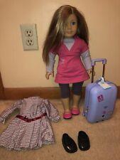 New ListingCustom American Girl Doll, Blonde Hair, Blue Eyes