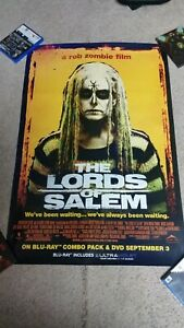 THE LORDS OF SALEM 2013 ORIGINAL DVD MOVIE POSTER ROB ZOMBIE 27x40