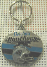 METAL KEYCHAIN KEY RING  NFL  CAROLINA PANTHERS KEY RING  1 1/2   KEY CHAIN