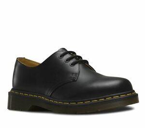 Dr Martens 11838002 1461 BLACK SMOOTH 3 EYE Shoe Unisex