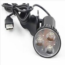 USB Light Lamp Flexible Super Bright 3 LED Clip On Spot For Laptop PC Notebook