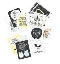 Milestone Baby Cards- Over the Moon | Minimalistic, Stylish Baby Photo Cards