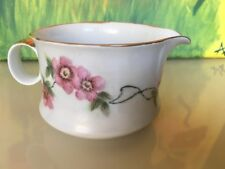 Hutschenreuther Creamer Dish 1814 CM  - Germany Free Shipping! Floral Pink White