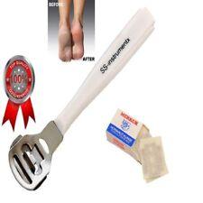 Removedor De Callos Maíz duro piel muerta de pie de máquina de afeitar Pedicura Herramienta + Cuchillas