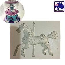 Carousel Horse Fondant Mould Making Chocolate Cake Decorating Mold HKIM60601