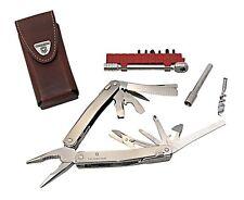 VICTORINOX SwissTool Spirit XC Plus Ratchet Leather Case