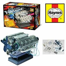 HAYNES V8 COMBUSTION ENGINE MODEL KIT BUILD YOUR OWN INTERNAL SOUNDS & LIGHTS
