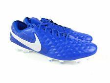Nike Mens Tiempo Legend 8 Elite FG Size 13 Royal Blue/White AT5293-414