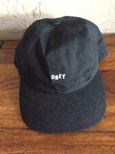 Bnwt Obey Black Baseball Cap